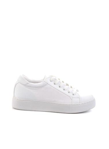 Bambi Kadın Sneaker K01836002009 Beyaz